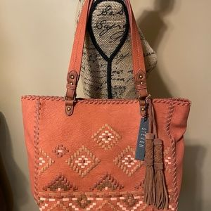 STEVEN by Steve Madden Bree Tote in Spice NWT!